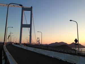 しまなみ海道、来島海峡大橋